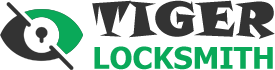 Tiger locksmith Logo
